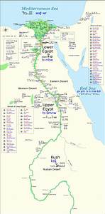 Map Of Ancient Egypt And Surrounding Countries #23896
