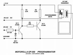 Schematic Of Gp300 Programmer