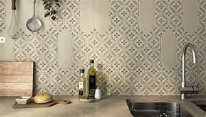 Carreau De Ciment Mural Cuisine : carrelage motif carreau de ciment hexagonal large b26 vente de carrelage haut de gamme ~ Louise-bijoux.com Idées de Décoration