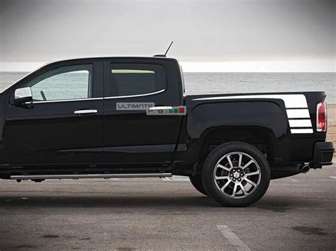 decal sticker vinyl hockey bed stripes compatible  gmc