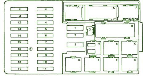 Fuse Box Diagram Mercedes Benz Sel