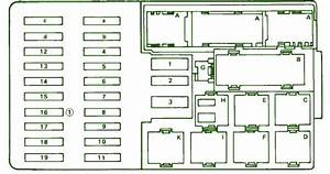 Fuse Box Diagram Mercedes Benz 1990 420 Sel