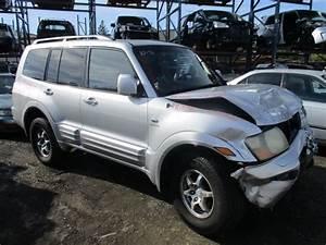 2002 Mitsubishi Montero Limited Silver 3 5l At 4wd 163795