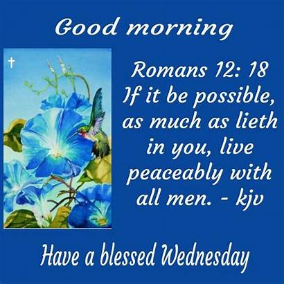 Morning Verses Bible Quotes Wednesday Days King