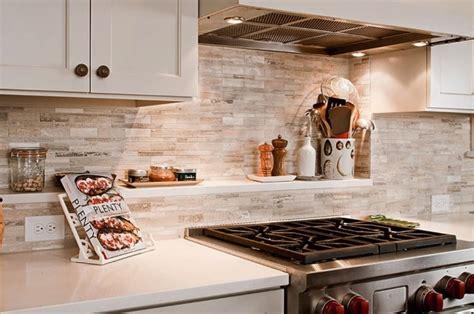 stone  wallpaper backsplash kitchen ideas