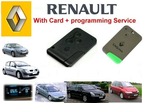 Renault Megane Scenic 2003 2009 Replacement Key Card Case