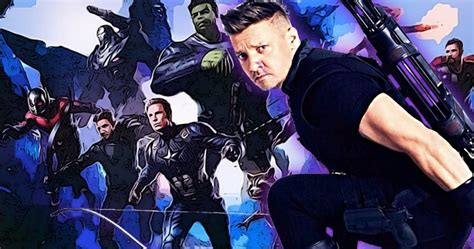 Jeremy Renner Teasing Avengers Trailer Drop With