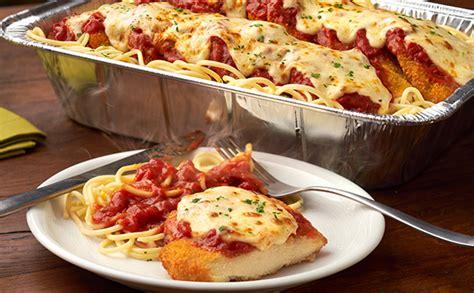 olive garden dinner chicken parmigiana serves 4 6 lunch dinner menu