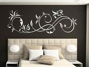 Bilder Mit Rahmen Für Wohnzimmer : elegantes wandtattoo ornament elegante wandtattoos als ~ Lizthompson.info Haus und Dekorationen