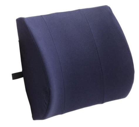 back support pillow for firm lumbar support cushion with memory foam