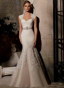 ivory lace wedding dress with cap sleeves naf dresses With ivory wedding dresses