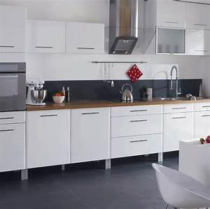 carrelage pour cuisine blanche decoration couleur With choix des couleurs de peinture 18 cuisine quel carrelage mural choisir