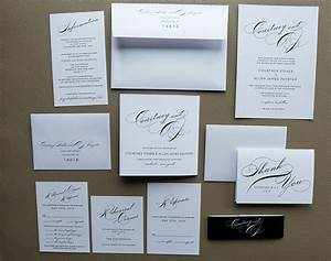 Simple wedding invitation package with tammy swales for Simple wedding invitations with pictures