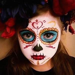 Schminken Zu Halloween : halloween gesichter schminken 30 einfache beispiele mit garantiertem gruseleffekt ~ Frokenaadalensverden.com Haus und Dekorationen