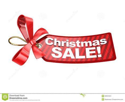 christmas sale tag stock illustration image of price