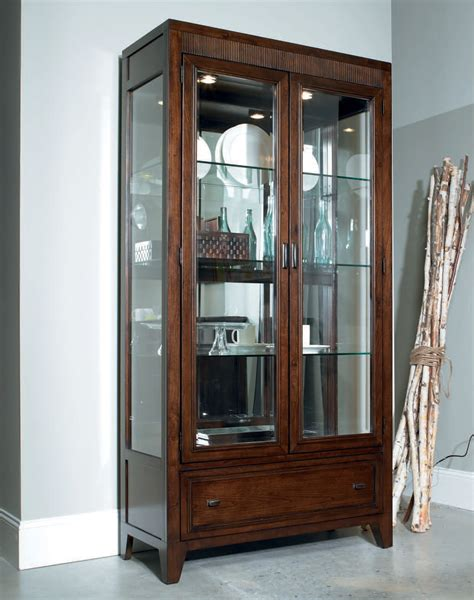 Furniture Amazing Display Cabinets Design With Glass