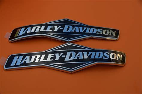Genuine Harley Davidson Fuel Gas Tank Emblems