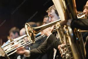 Brass, Section, In, Orchestra, -, Stock, Image, -, F004, 4647