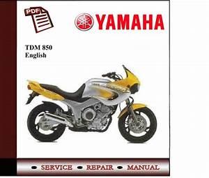 Yamaha Tdm 850 96-99 Workshop Service Manual