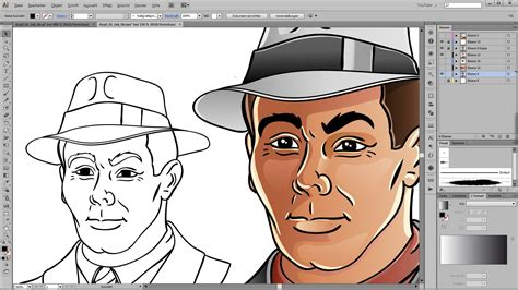 drawing  coloring tutorial  adobe illustrator youtube
