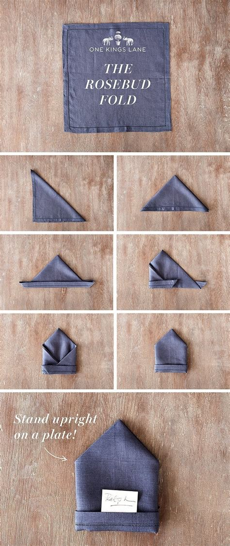 napkin table folding fold step techniques folds dinner napkins guide easy transform serviette ways restaurant paper pliage nailing architecturendesign flat
