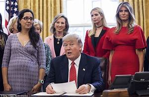 Ivanka Trump wears red pantsuit for bill-signing ceremony ...