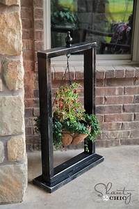 Hanging Basket Wood Stand - Shanty 2 Chic