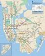 New York City Subway Map   Chameleon Web Services