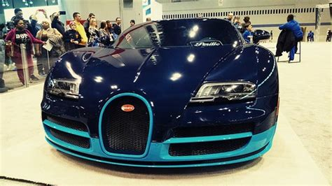 The development of the bugatti veyron was one of the greatest technological challenges ever known in the automotive industry. Bugatti Veyron V12 Vitesse : Chicago Auto Show 2015 | Flickr
