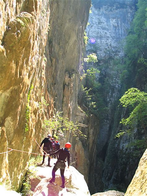 Canyoning Lake Garda Italy - Europe: Guided Canyoning Tours