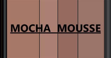 pantone seasonal color swatch mocha mousse color thesaurus color wheels and information