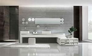 Badezimmermöbel Set Grau : moderne badezimmerm bel grau ~ Indierocktalk.com Haus und Dekorationen