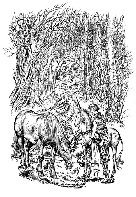 narnia pauline baynes illustrations - Google Search | Narnia, Chronicles of narnia, Narnia author