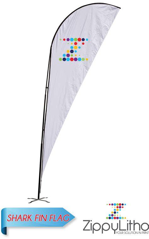 shark fin flag zippy litho