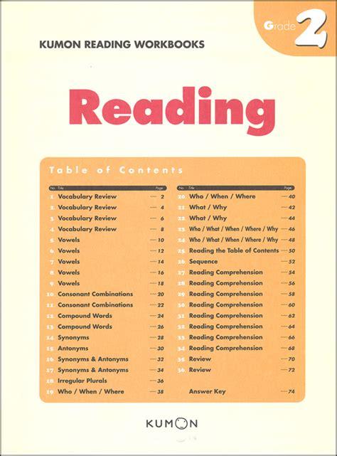 kumon reading workbook grade 2 053218 details