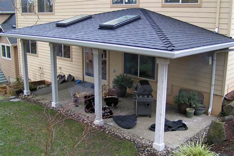 how much does an aluminum patio cover cost patio designs