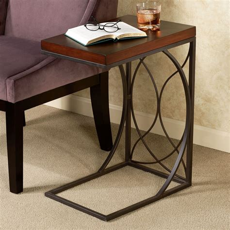 c shaped console table furniture metal c shaped sofa tables wonderful c shaped