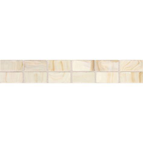 daltile fashion accents beige swirl 2 in x 12 in ceramic