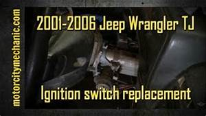 Wrangler Liberty PT Cruiser Neon Ignition Switch