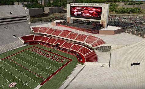 arkansas moves   reynolds razorback stadium expansion football stadium digest
