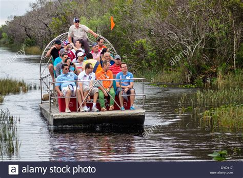 Everglades Airboat Tours Gator Park by Miami Florida Tamiami Trail Route 41 Everglades Gator Park
