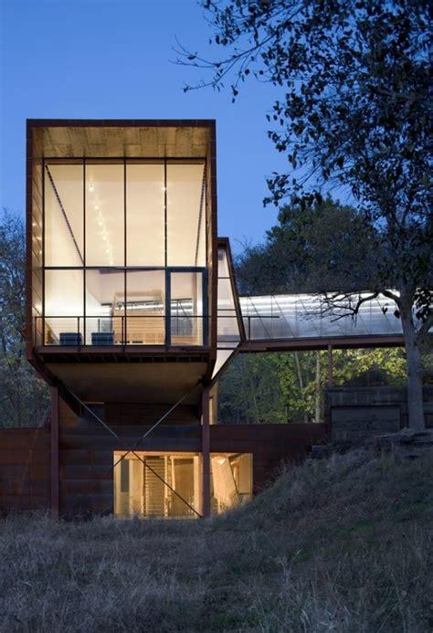 unusual residences  industrial exterior designs