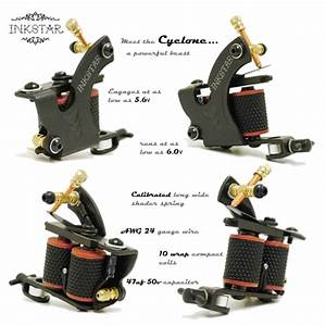 Tattoo Kit  Inkstar Ace C Kit  5 Tattoo Machine  U0026 20 Colors