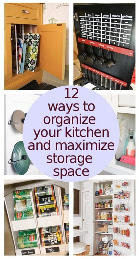 maximize kitchen storage diy home sweet home organize your kitchen to maximize storage 4041