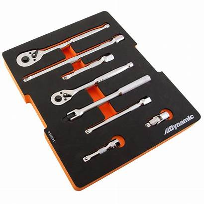 Ratchet Extension Tray Tools Handle Extensions Drive