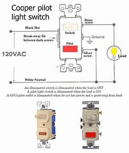 How To Wire Pilot Light Switch Electrical Info Pics