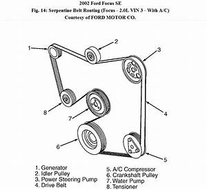 2008 Ford Focus Serpentine Belt Diagram
