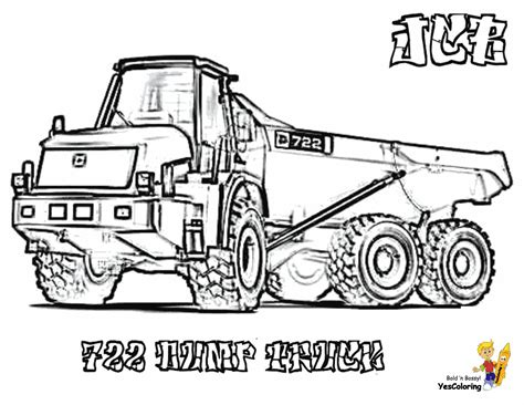 Coloring Jcb by Coolest Construction Coloring Pages Free Road Work