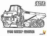 Coloring Truck Construction Pages Jcb Dump Vehicle Printable Road Yescoloring Print Articulated Excavators John Highway Forestry Deere Rugged Coolest sketch template