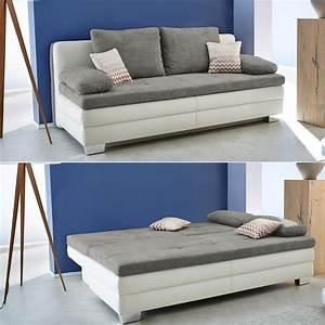 Big Sofa Microfaser : funktionssofa lincoln schlafsofa sofa dauerschl fer wei microfaser grau topper ebay ~ Indierocktalk.com Haus und Dekorationen